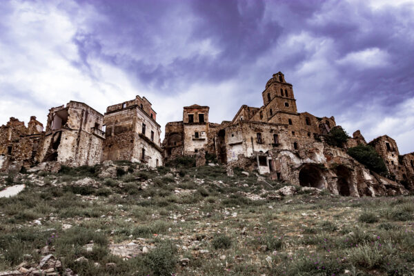 Italien Craco Geisterstadt