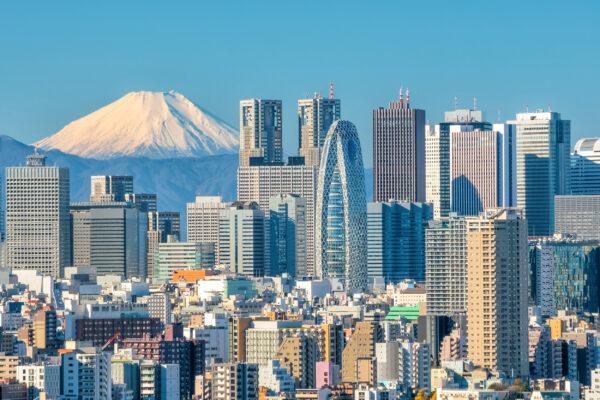 Japan Tokio Fuji Berg