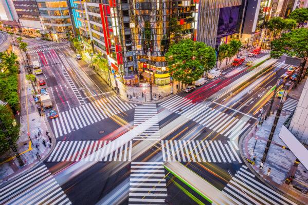 Japan Tokio Ginza