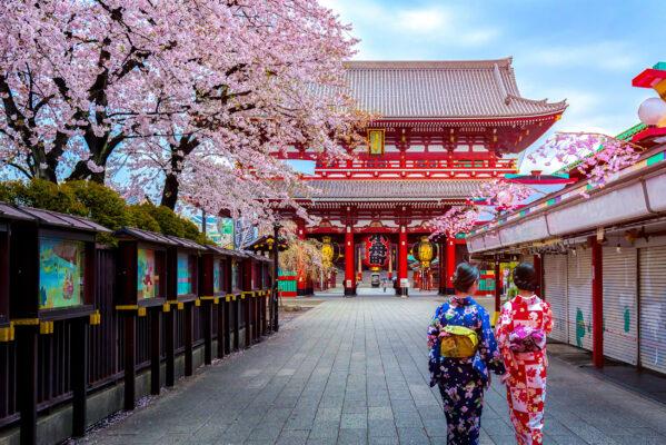 Japan Tokio Kimono