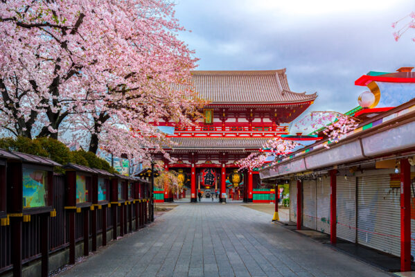 Japan Tokio Sensoji Tempel