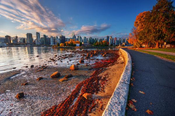 Kanada Vancouver Herbst