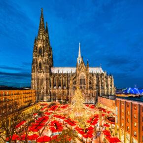 Weihnachtsmarkt in Köln: 2 Tage im zentralen 4* Design-Hotel nur 34€