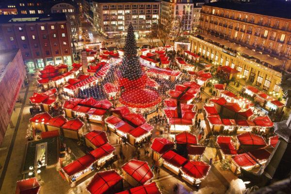 Köln Weihnachtsmarkt oben