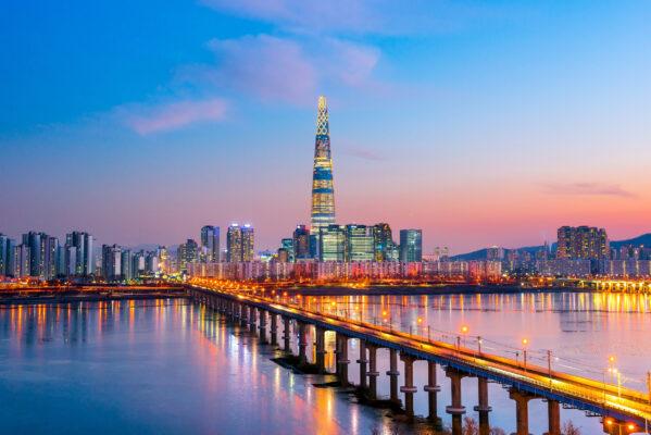 Korea Seoul Skyline
