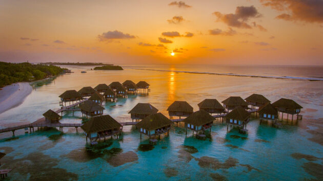Malediven Resort Überblick