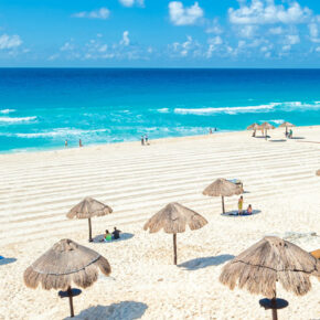 Mexiko Cancun Strand