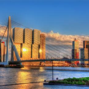 Kurztrip Rotterdam: Gutschein für 3 Tage im 4* Hotel inkl. Frühstück nur 75€