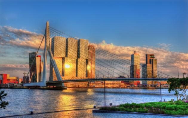 Niederlande Rotterdam Brücke