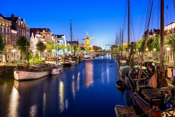 Niederlande Rotterdam Grachten