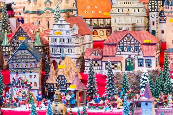 Nürnberg Weihnachtsmarkt Häuschen