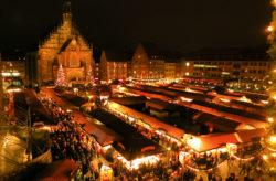 Nürnberger Christkindesmarkt: 2 Tage übers WE in zentralem 3* Hotel nur 31€