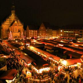 Auf dem Nürnberger Christkindlesmarkt: 2 Tage im TOP 4* Hotel mit Frühstück & Wellness ab 44€