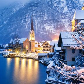 Nahe Hallstatt: 3 Tage Winterwunderland im 3* Hotel inkl. Halbpension & Wellness ab 139€