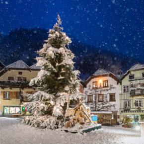 Weiße Weihnachten: Orte mit Schneegarantie in Deutschland, Österreich, Italien & der Schweiz