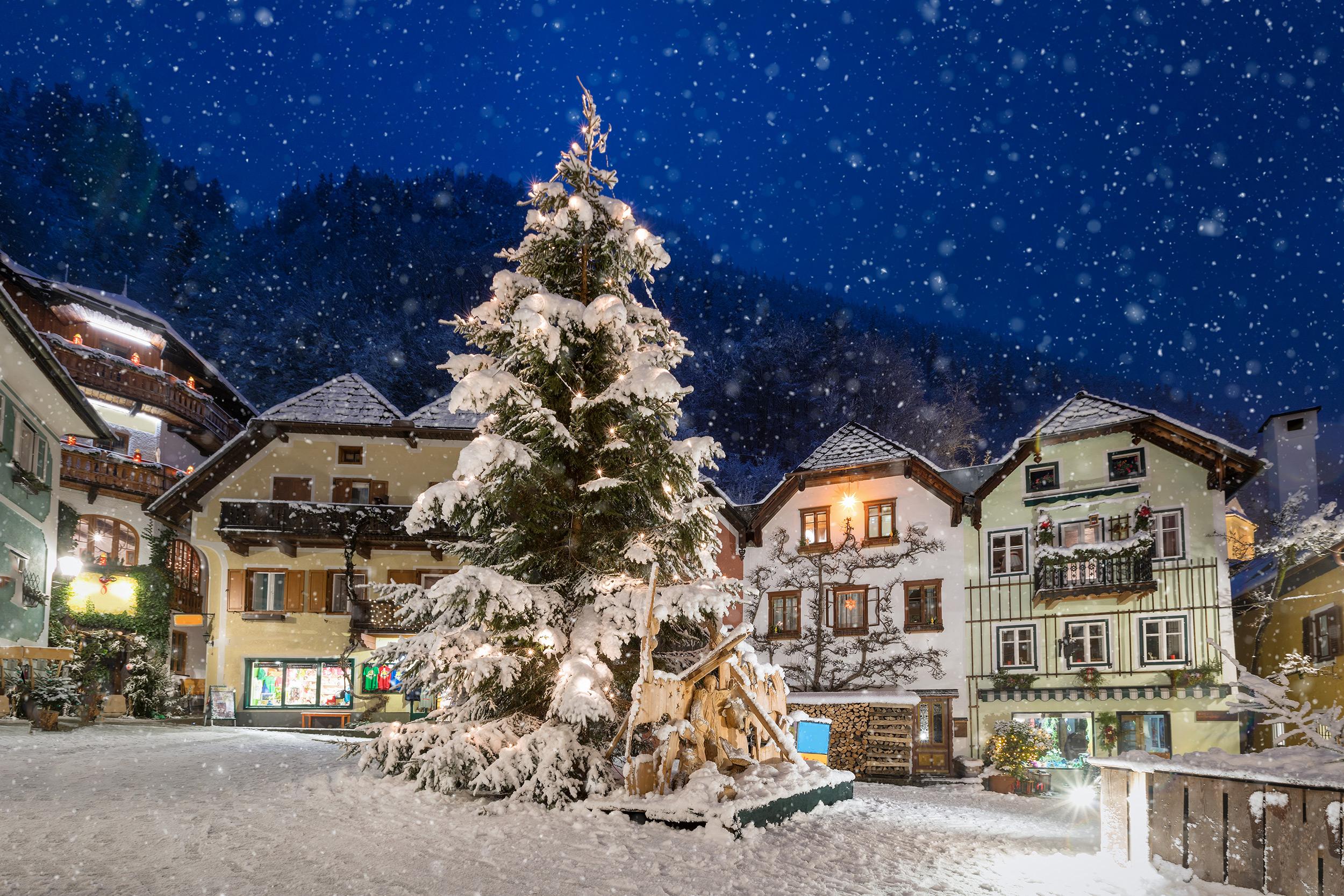 weiße weihnachten in diesen regionen liegt schnee