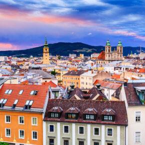 Die österreichischen Landeshauptstädte im Überblick