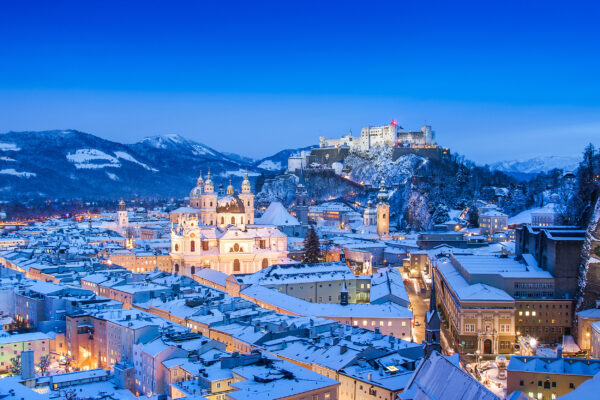 Österreich Salzburg Hohensalzburg