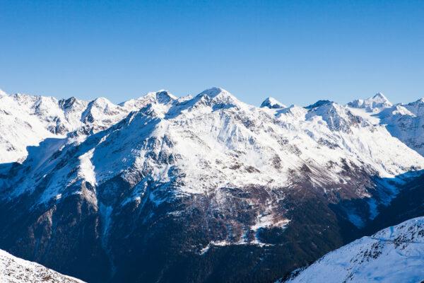 Österreich Sölden Ötztal Alpen