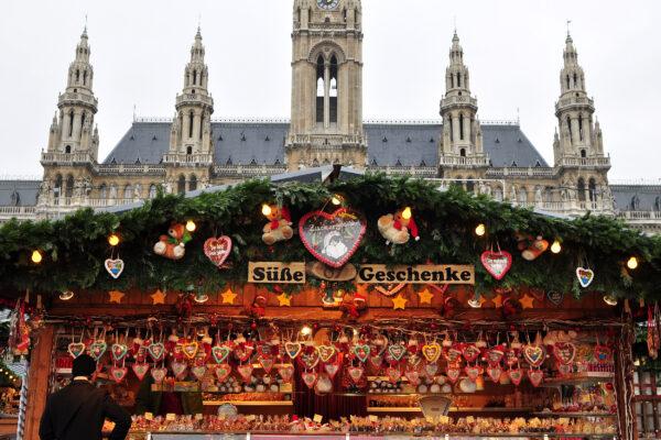 Österreich Wien Weihnachtsmarkt Geschenke