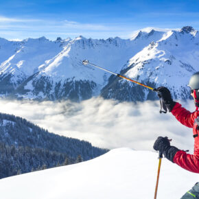 Österreich Sölden Skier