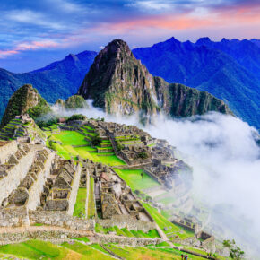 Peru Machu Picchu Nebel