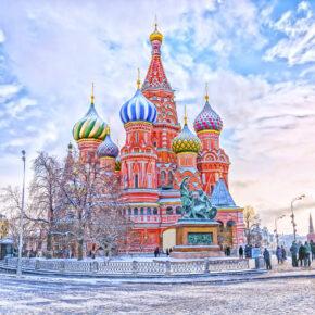 Im Herzen Moskaus: 4 Tage Russland in zentraler Unterkunft mit Frühstück & Flug nur 91€