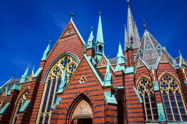Schweden Göteborg Oscar Fredrik Kirche