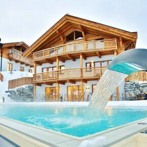 Leutaschklamm in Tirol: 3 Tage im TOP 4* Hotel mit Wellness & Halbpension für 159€