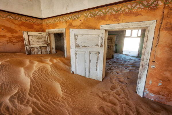 Geisterstadt Südafrika Kolmannskuppe