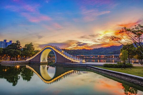 Taiwan Taipei Dahu Park