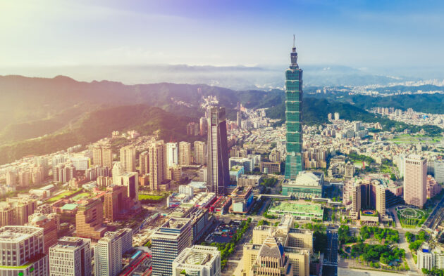 Taiwan Taipei Stadt