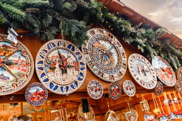 Tschechien Prag Weihnachtsmarkt Souvenir