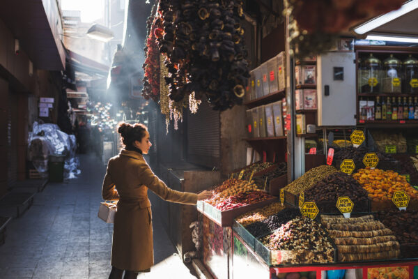 Türkei Istanbul Basar Frau