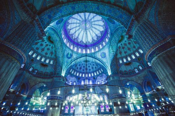 Türkei Istanbul Blaue Moschee