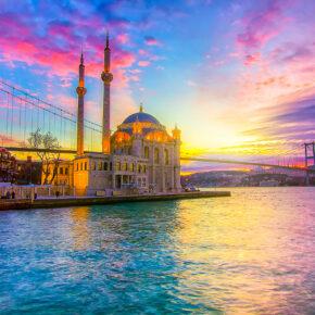 Ab an den Bosporus: 3 Tage Istanbul im TOP 5* Hotel & Flug nur 156€