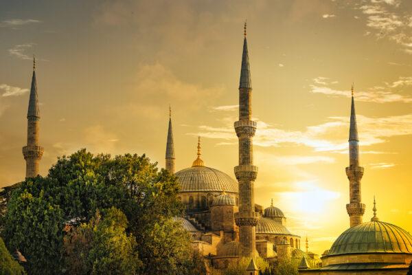 Türkei Istanbul Sultanahmet Mosque