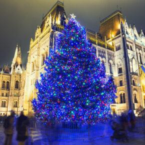 Winter-Wochenende in Budapest: 3 Tage im TOP 4* Hotel mit Flug nur 61€
