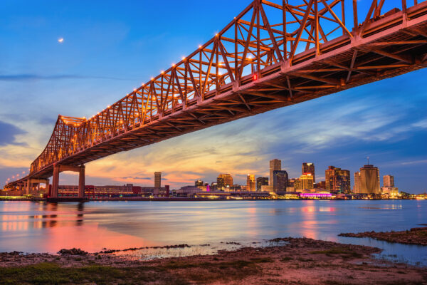 USA New Orleans Brücke