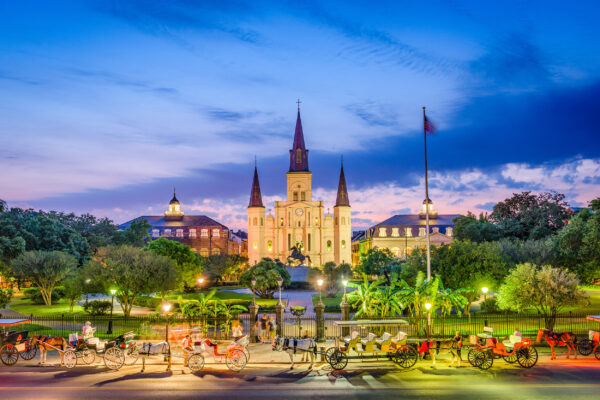 USA New Orleans Kathedrale