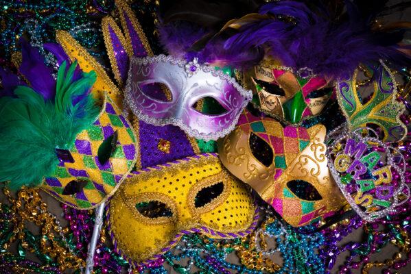 USA New Orleans Mardi Gras