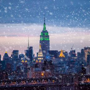 8 Tage Wintertraum in New York: Direktflüge mit 5* Singapore Airlines inkl. Gepäck für 347€