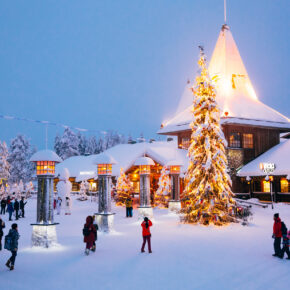 Weihnachtsmanndorf: Zu Besuch in Finnland beim Weihnachtsmann
