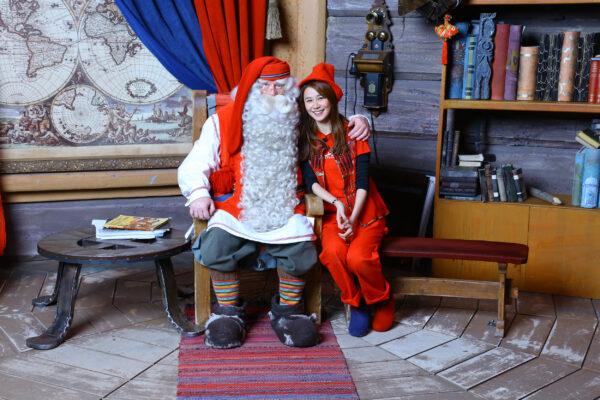 Weihnachtsmanndorf Lappland Santa Clause Haus