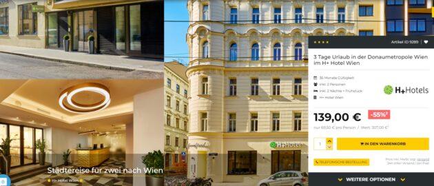 Wien Hotelgutschein