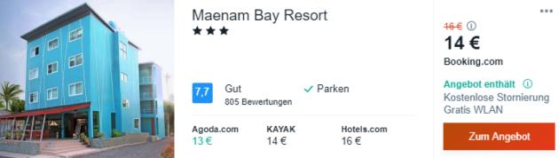 14 Tage Thailand Hotel