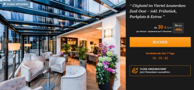 24 Stunden Sale 2 Tage Amsterdam Im 4 Hotel Mit Fruhstuck Extras