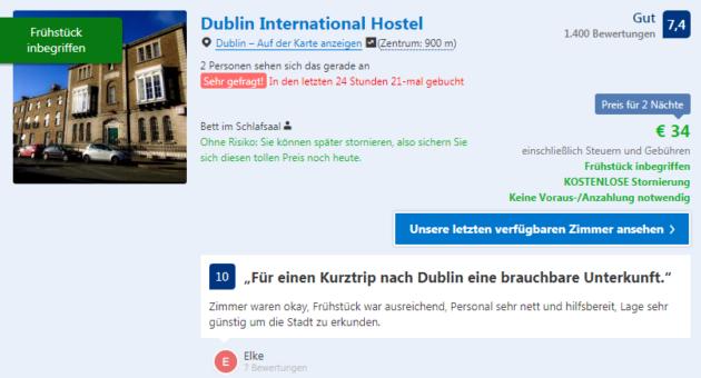 3 Tage Dublin