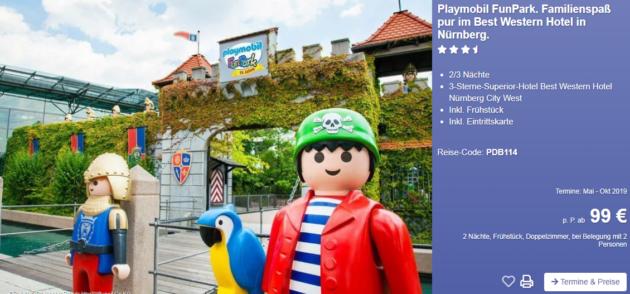 3 Tage Playmobil