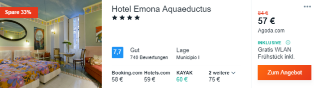 3 Tage Rom Hotel
